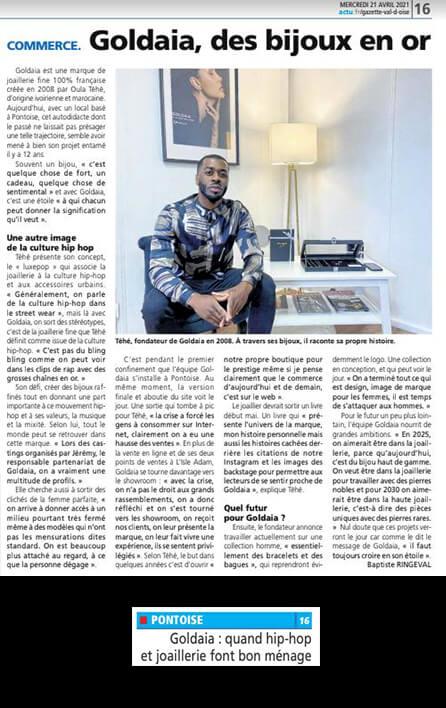 Gazette du Val d'Oise - avril 2021